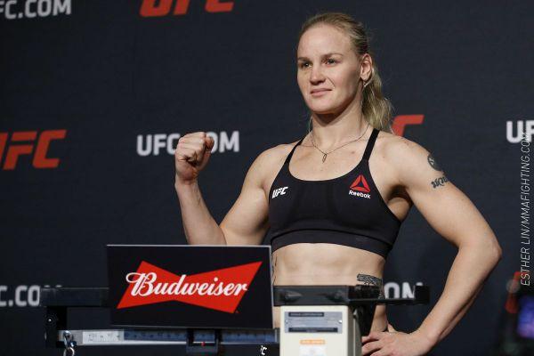 Чемпіонка UFC в найлегшій вазі Валентина Шевченко ...