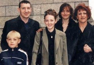 Кадр Дня: Юний Макгрегор з родиною