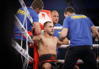 Максим Бурсак повернеться в ринг 22 лютого