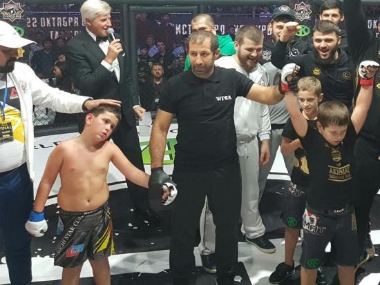 Міністерство спорту РФ чекає звіту організаторів ММА турніру серед дітей в Чечні