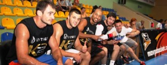 Фото з баскетбольного матчу зірок