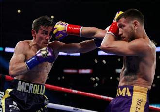 Ломаченко жорстко нокаутував Кроллу в четвертому раунді