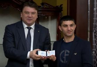 Кадр Дня: Далакян - Заслужений майстер спорту України