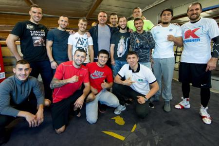 Кадр Дня: Егіс Клімас зі своєю зірковою командою