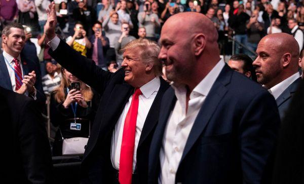 Трампа освистали на UFC. Дана Вайт пояснив, що відбулося