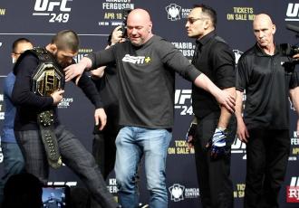 Фергюсон: Хабіб, ти - жирний, який ще бокс?