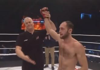 Українець підписав контракт з UFC