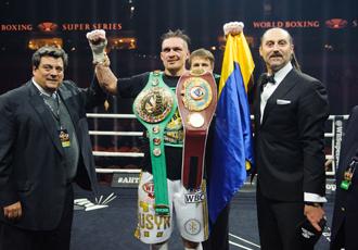 Усик визнаний боксером місяця за версією WBC