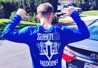Зубенко під керівництвом Дудченка готується до наступного бою (ВІДЕО)