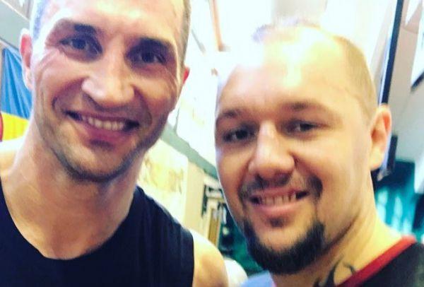 Кличко і Дюопа приступили до спарингів (ФОТО)