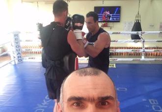 Кадр дня: Кличко готується до бою з Фьюрі