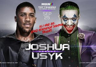 Неймовірне промо бою Джошуа - Усик від Sky Sports (ВІДЕО)
