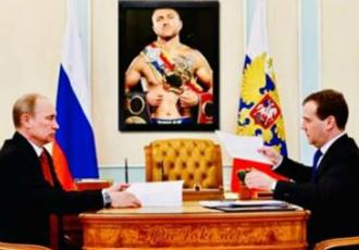 Кадр Дня. Редкач показав портрет Ломаченка у кабінеті Путіна