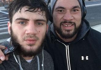 Кадр Дня: Саламов і Паркер на ранковій пробіжці