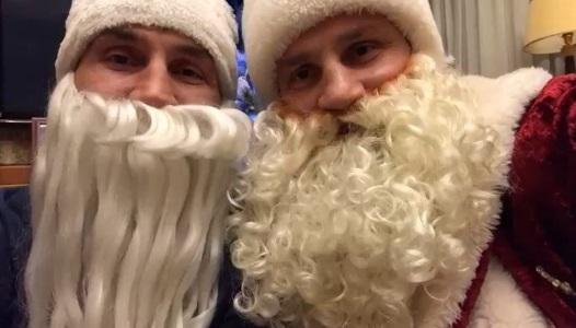 Надзвичайно миле привітання з Різдвом від братів Кличків (ВІДЕО)