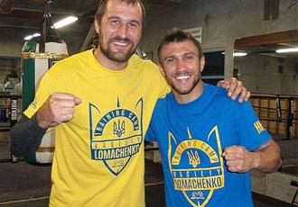 Кадр Дня: Ковальов з Ломаченком тренуються в одному залі