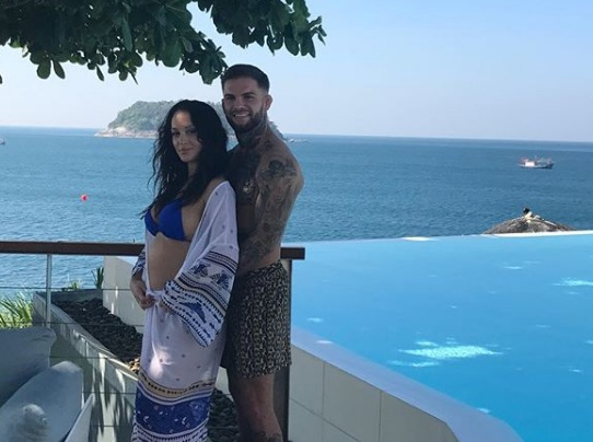 Гарбрандт відпочиває з вагітною дружиною (ФОТО)