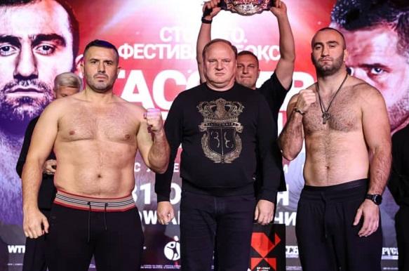 Гассієв і Сефері пройшли офіційну процедуру зважування (ФОТО)