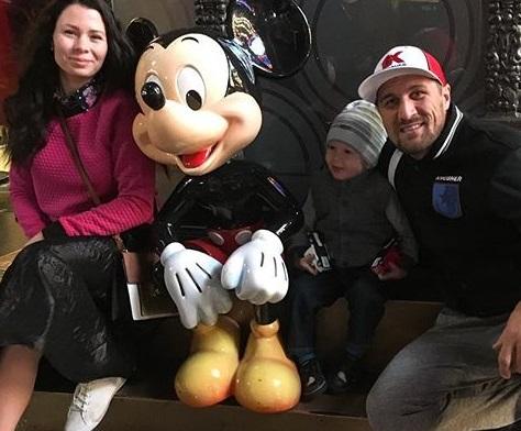 Кадр Дня: Ковальов відпочиває з родиною