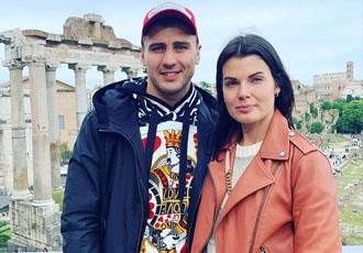 Кадр дня. Сімейна відпустка Гвоздика у Римі