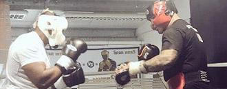 Чізора став спаринг-партнером Брауна (ФОТО)
