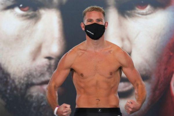 Чемпіон WBO в суперсередній вазі Біллі Джо Сондерс...