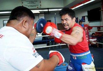 Пакьяо: Боксувати в 40 років - виклик для мене
