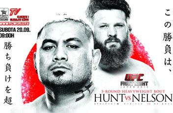 Всі результати UFC Fight Night: Хант проти Нельсона
