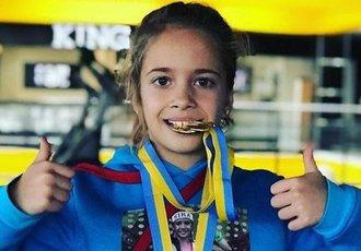 9-річна українка вразила боксерськими навичками (ВІДЕО)