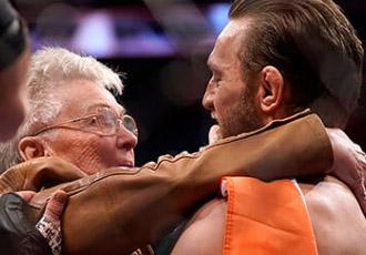 Макгрегор нахвалює бабцю Серроне