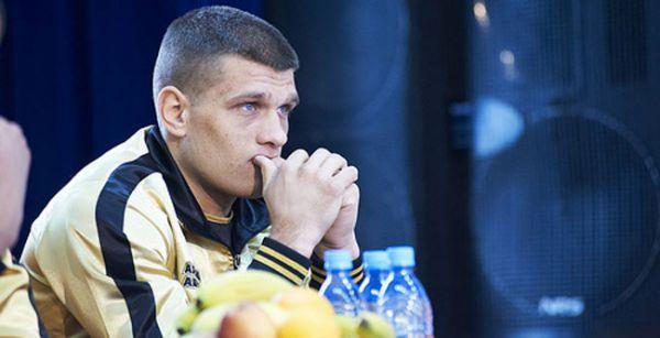Сергій Дерев'янченко тренує сина Матвія (ВІДЕО)