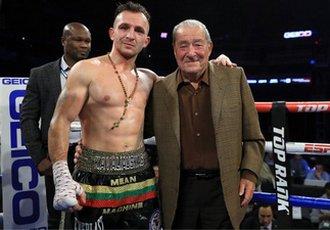 Каваляускас: Хочу битись з кращими боксерами світу