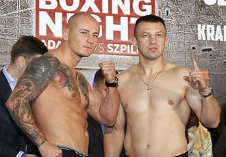 Адамек і Шпілька показали майже однакову вагу на зважуванні