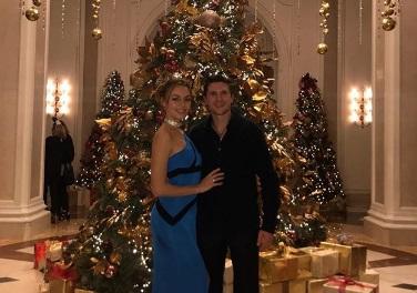 Вишукане новорічне святкування Тараса Шелестюка з дружиною (ФОТО)