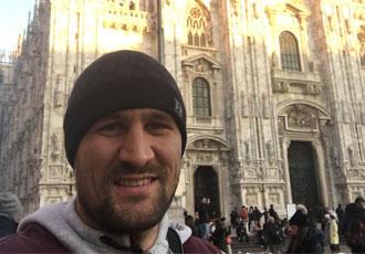 Кадр Дня: Ковальов відпочиває в Мілані