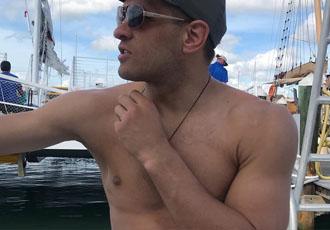 Дерев'янченко насолоджується відпочинком в Флориді (ВІДЕО)