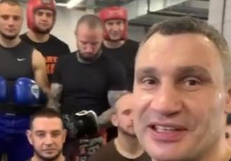 Віталій Кличко провів заняття для київських полісменів (ВІДЕО)