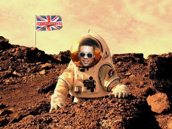 Усик і Джойс домовляються про бій на Марсі (ФОТО)