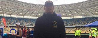 Усик на марафоні у Києві (ФОТО)