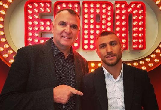 Ломаченко і Клімас на ESPN (ФОТО)