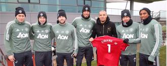 Юбенк-молодший зустрівся із футболістами
