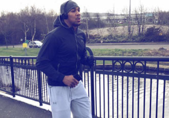 Кадр Дня: Ентоні Джошуа на пробіжці