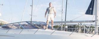 МакГрегор відпочиває на яхті (ФОТО)