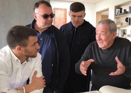 Кадр Дня: Ломаченко, Усик та Клімас слухають Арума
