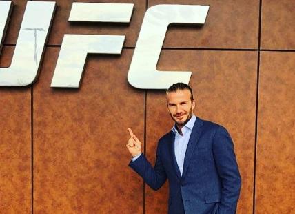 Девід Бекхем відвідав інститут UFC (ФОТО)