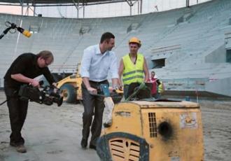Кличко сам будує стадіон у Вроцлаві