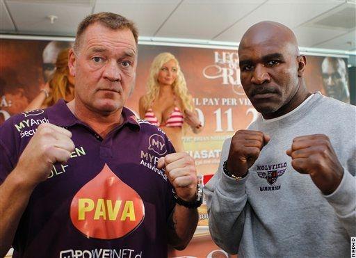 Боксери вийдуть у ринг 7-го травня у Копенгагені.