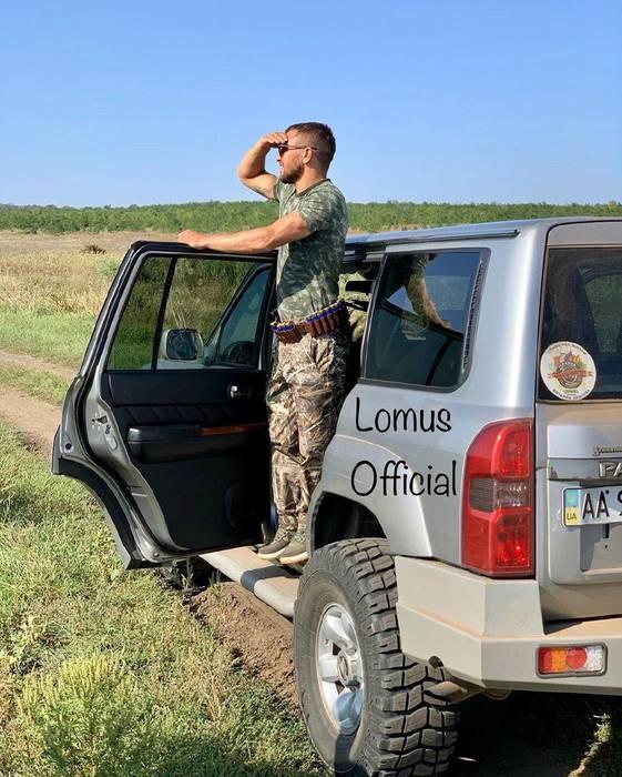 Кадр Дня. Ломаченко поїхав на полювання