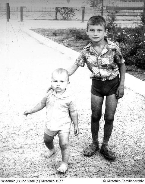 Кадр Дня. Як виглядав Володимир Кличко в 1 рік