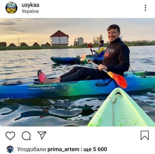 Кадр Дня. Усик та Ломаченко покаталися на байдарках